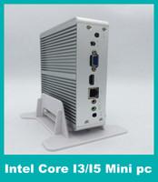 barebone systems - Cheapest nm Intel CPU Core I3 U Fanless System dB With VGA HDMI Gigabit Lan Intel Nuc Barebone Desktop Computer