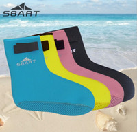 diving shoes beach snorkeling - Summer Sports Sand Socks Beach Volleyball Sand Soccer Snorkeling Diving Watersports Thicken mm Socks Pink Black pairs