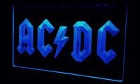 ac dc club - LS120 b AC DC Band Music Bar Club Neon Light Sign