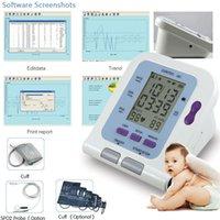baby bp - Digital Arm Infant Blood Pressure Monitor C cm Cuff SPO2 Oximeter Probe Sphygmomanometer BP Monitor for Baby