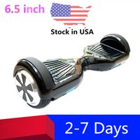 mini skateboard - Good Quality inch Two Wheels Electric Scooters Smart Hover Board Mini Self Balancing Scooter Skateboard Stock in USA Dropshipping