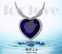 heart of the ocean - new arrival the heart of ocean crystal necklace Austrian crystal element jewelry price