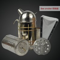 bee smoker - carton European style stainless steel bee smoker good popular in Europen bee smoker from one of largest factory in China