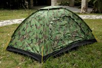 army tent - Tactical cm Outdoor Portable Single Layer camping Tent Camouflage for Person Waterproof Beach Tents Camping tourism travel wil