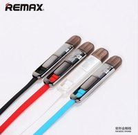 Wholesale Remax Original in USB Sync Charger Cable M For iPhone s C For Samsung For HTC Cable Price