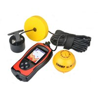 alarm system equipment - New Wireless Wired Degree Sonar Fish Finder Light Lure Sensor Alarm System Deeper Fishfinder Sea Fishing Radar Equipment
