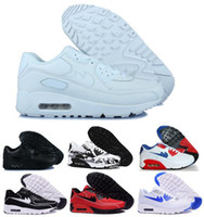 Cheap Aires Running Shoes Maxes 90 Led Black Women Men Airmaxs Hyperfuse Luminous Femme Homme Casual Trainers Outdoor Sneakers Size 36-46