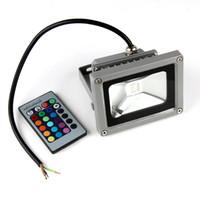 Wholesale AC V V W LED RGB COLOR SPOTLIGHT Flood Light Bulb Garden Outdoor New