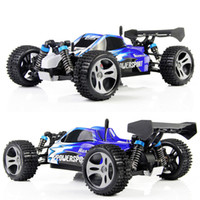Wholesale WLtoys A959 Electric Rc Cars WD Shaft Drive Trucks High Speed Radio Control Rc Monster truck Super Power Ready to Run Free ship