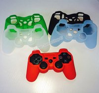 Wholesale Protective Skin Cover for PS3 Controller Silicone Case Soft Silicon Many Colors
