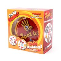 big board basketball - Spot It Card Game Basic English Language Family Party board game From Blue Orange