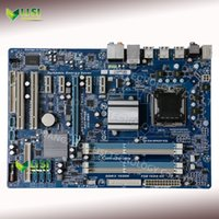 Wholesale EP43T S3L Second Hand For Gigabyte GA EP43T S3L Desktop Motherboard For intel P43 Socket LGA DDR3 On Sale
