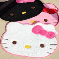 Wholesale 2015 Hot sale cm hello kitty cartoon floor mats living room car carpet floor mats tapete cute rugs and carpets Children room doormat
