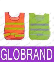 Wholesale New design Visibility Reflective Safety Vest Coat Sanitation Vest Traffic Safety warning clothes vest Safety working waistcoat cloth GLO751
