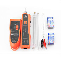 Wholesale High Quality RJ11 RJ45 Cat5 Cat6 Telephone Wire Tracker Tracer Toner Ethernet LAN Network Cable Tester Detector Line Finder