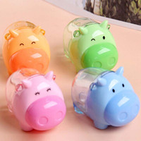 Wholesale Creative Animal Pencil Sharpeners Manua Pencils Sharpener School Office Supplies Papelaria