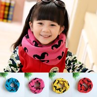 Wholesale Children s products baby bib collar and collar pattern in winter beard children s Scarf Collar cartoon baby cotton color Garment accessori