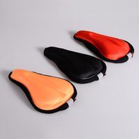Wholesale Wholeslae Comfort Bike Saddle Cover Bicycle Memory Foam Seat Outdoor Cycling Cushion Pad MN0050 smileseller