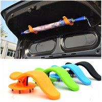 Wholesale 1Pair Fashion Universal Car Trunk Mounting Bracket Umbrella Car Holder Clip Hook Interior Multifunctional Fastener Accessories