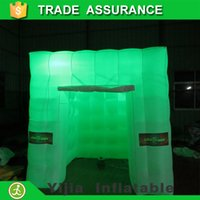 Wholesale free ship by DHL high quality ft inflatable photo booth for sale