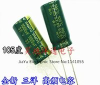 Wholesale V UF UF V High frequency low resistance Electrolytic Capacitors Size