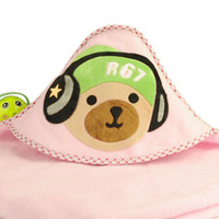 Wholesale 2016 Hot New children s bathrobe Hooded Animal modeling Baby Bathrobe Cartoon Baby Towel Character kids bath robe Q2