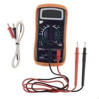 Wholesale M820C Digital AC DC Multimeter Voltmeter Test Leads Probe Temperature Line B00346 SPDH