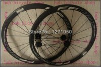 Wholesale BLACL AND WHITE WHEEL STICKER super light full carbon wheels mm clincher roda de bicicleta price