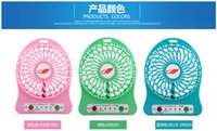 Wholesale Home Appliances Creative Gifts Of The New USB Mini Fan Home Portable Small Fan Manufacturers Direct Sales Colourful Light
