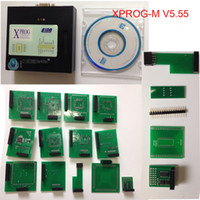 Wholesale Strong A Best Quality X prog ECU Chip Programmer with Fast shipping DHL Xprog Box Xprog m V5 Latest Version