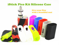 Cheap 2016 Free Shipping Eleaf iStick Pico 75W Kit Protective Case Fit istick Pico E Cigarette Rubber Sleeve Protective Silicone Case