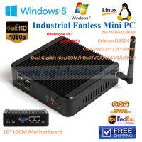 alloy hdmi cable - Intel SOC Stick PC Windows Small Alloy ITX Case Fanless Mini PC J1900L GB RAM NO HDD Years Warranty Free HDMI Cable