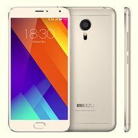 Wholesale Meizu MX5 E G LTE Unlocked Cell Phone Octa Core quot P MP GB GB Flyme Fingerprint
