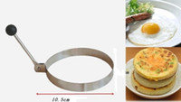 bento egg shaper - Creative Round Shape Stainless Steel Poached Fried Egg Mold Shaper Pancake Mould Bento Decoration Kitchen Cooking Tool pc
