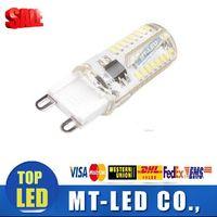 G4 blanc bulbe Avis-Moins cher led G9 led Support gradger 6W LED lampe à LED ampoules 110v 220V blanc froid blanc chaud 64led haute qualité pour lustres en cristal
