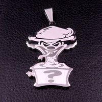 Wholesale Twiztid inch RIDDLEBOX CHARM ICP JOKERS CARD PENDANT w quot NECKLACE CUBA CHAIN