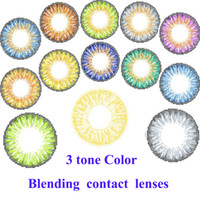 Wholesale With stock color fresh colorblends freeshipping by DHLcontact lenses contact lenses