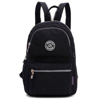 Wholesale 2016 Fashion Girls Small Water Resistant Nylon Backpack Light Sling Chest Bag
