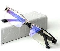 Wholesale W311 Titanium alloy Non spherical light eyeglasses frame men Women fashion computer hyperopia reading glasses