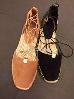 aldo shipping - US and Europe Post ALDO DELIAS fight bonded bandage fisherman shoes Rome shoes flat straw