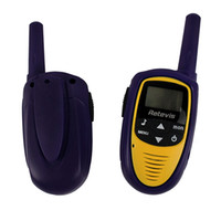 Wholesale New Mini Walkie Talkie RT31 CH W UHF FRS GMRS VOX LCD Display Two Way Radio
