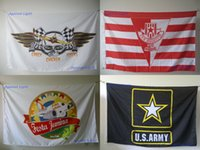 flags and banners - 120 x cm Full Color Single Sided Custom Flag Customized Personalized Logos Signs For Flags and Banners With Grommets
