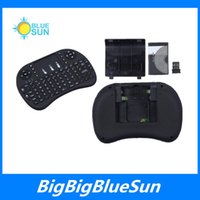 Wholesale Wireless Keyboard rii mini i8 keyboards Fly Air Mouse Multi Media Remote Control Touchpad Handheld for TV BOX Android Mini PC