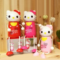 Wholesale Portable Hello Kitty Thermos Water Bottle Stainless Steel Kids Mini Vacuum Flasks Thermoses