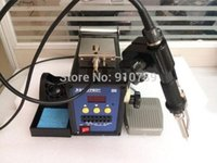 automatic soldering machine - W V Automatic intelligent digital Foot switch send tin soldering machine for mm soldering wire