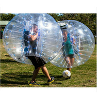 Wholesale New Toy Air Bumper Ball Outdoor Fun Sports Body Zorb Ball Bubble Football Bubble Soccer Zorb Ball Inflatable Bumper Balls
