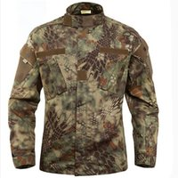 Wholesale High Quality color Men Camouflage Outdoor jackets Autumn Winter men s clothes waterproff windproff hunting coat