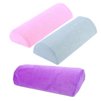 Wholesale Professional Nail Art Tools Soft Hand Rest Cushion Pillow Nail Art Holder Manicure Makeup Cosmetic Washable Care Nail Supplies