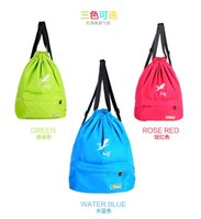beam table - Korean version of the new trend shoulders Drawstring beam port backpack mountaineering bag outdoor sports