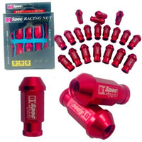 Wholesale D1 SPEC RED JDM RACING WHEEL LUG NUTS M12X1 PC FOR HONDA CIVIC ACURA INTEGRA yy108